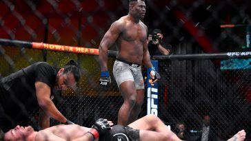 Stipe Miocic was knocked out cold by Francis Ngannou at UFC 260