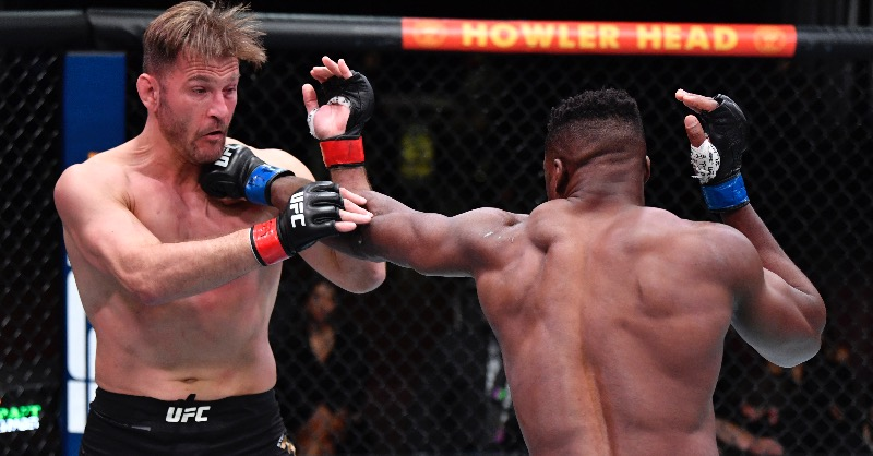 Francis Ngannou became the UFC Heavyweight Champion at UFC 260