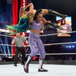 Bianca Belair attacks Sasha Banks at WrestleMania