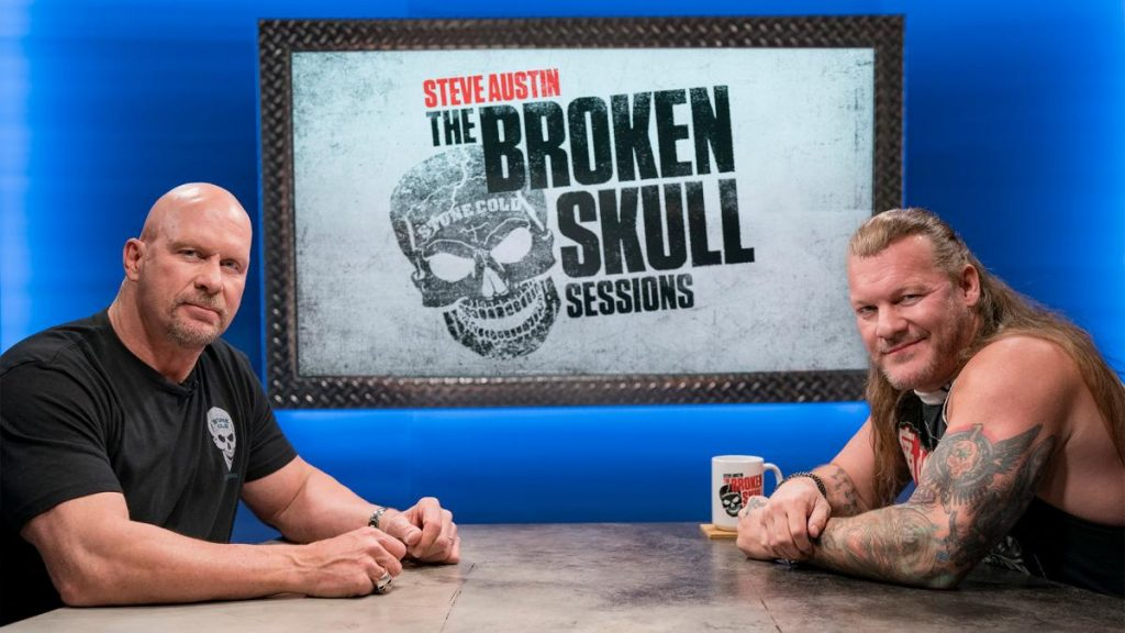 Chris Jericho was the guest for the Broken Skulls Sessions hosted by Stone Cold Steve Austin.