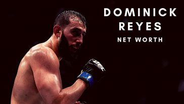Dominick Reyes has a huge net worth thanks to his UFC career