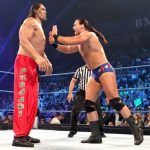 Drew McIntyre faces off against The Great Khali on SmackDown