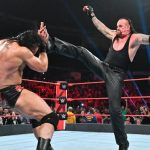 Drew McIntyre took on The Undertaker in a No Holds Barred match at Extreme Rules in 2019. (WWE)