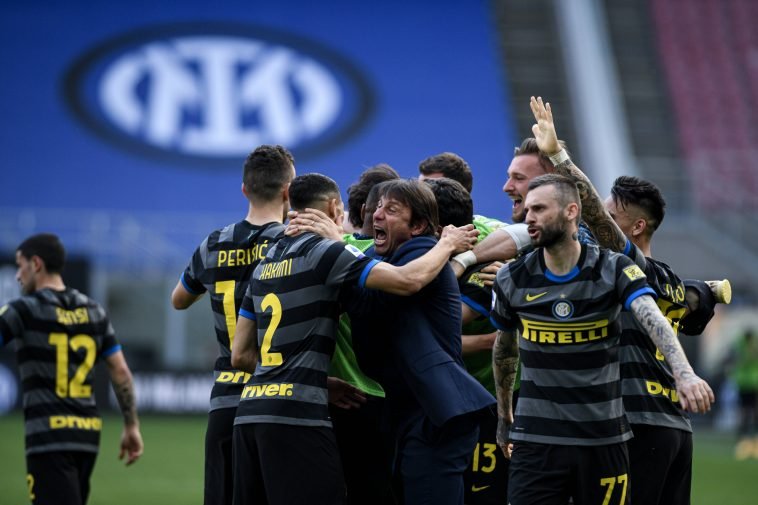 Inter Milan are on the brink of winning the Serie A. (imago Images)