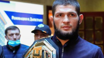 Khabib Nurmagomedov is a legend of the sport.