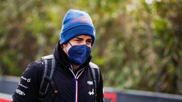 Fernando Alonso now races for Alpine