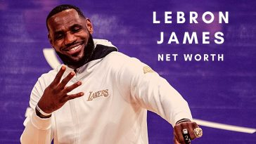 LeBron James has a huge net worth thanks to his NBA career