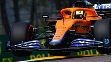 Lando Norris had his lap time deletedat the Imola GP 2021 qualifying