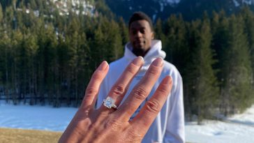 Elina Svitolina and Gael Monfils got engaged in April 2021