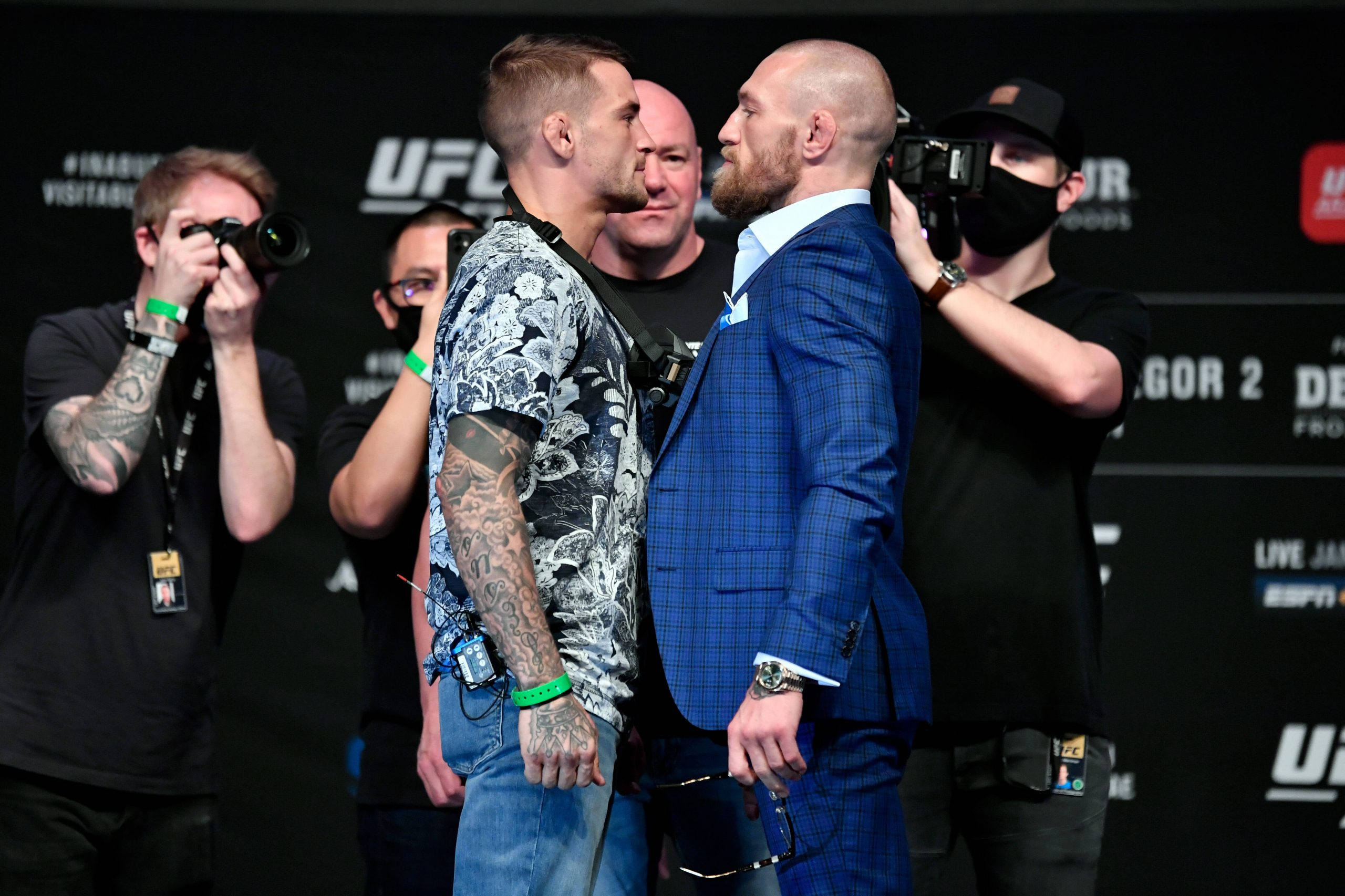 Dana White confirms McGregor vs Poirier trilogy with tickets on sale