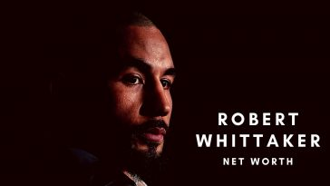 Robert Whittaker has amassed a huge net worth thanks to his UFC career
