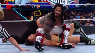 Roman Reigns retained his title at WrestleMania 37