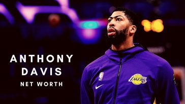 The net worth of Anthony Davis is increasing thanks to his contract with the LA Lakers