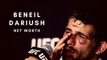 Beneil Dariush has a decent net worth thanks to his UFC career