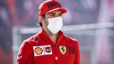 Carlos Sainz joined Ferrari from McLaren