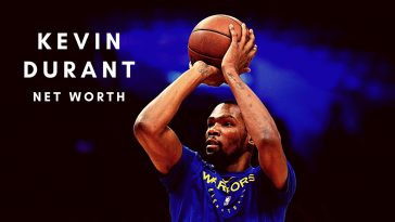 Kevin Durant has a huge net worth thanks to his NBA career