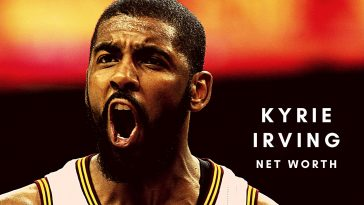Kyrie Irving has a huge net worth thanks to his NBA career