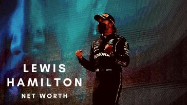 Lewis Hamilton has a huge net worth thanks to his F1 career