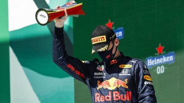 Max Verstappen finished second in the Portuguese GP 2021