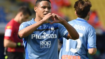 Luis Muriel scored 2 goals and provided 1 assist against Parma last weekend. (imago Images)