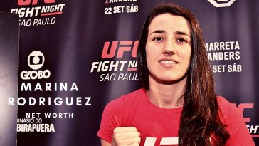 Marina Rodriguez has a net worth of close to $1million thanks to her UFC career