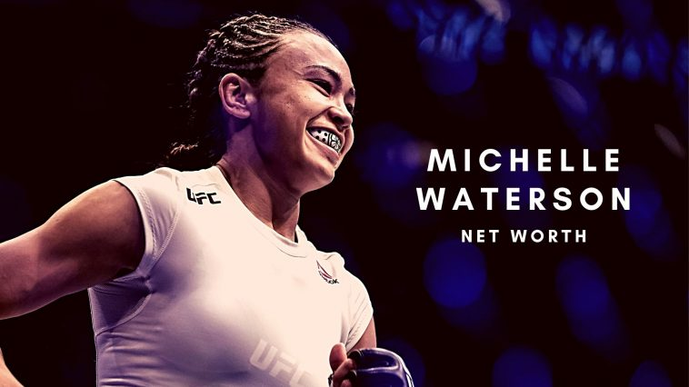 Michelle Waterson is one of the rising stars in the UFC and has a decent net worth